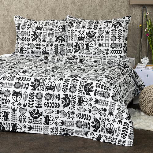 4Home Obliečky Nordic Folklor micro, 140 x 220 cm, 70 x 90 cm