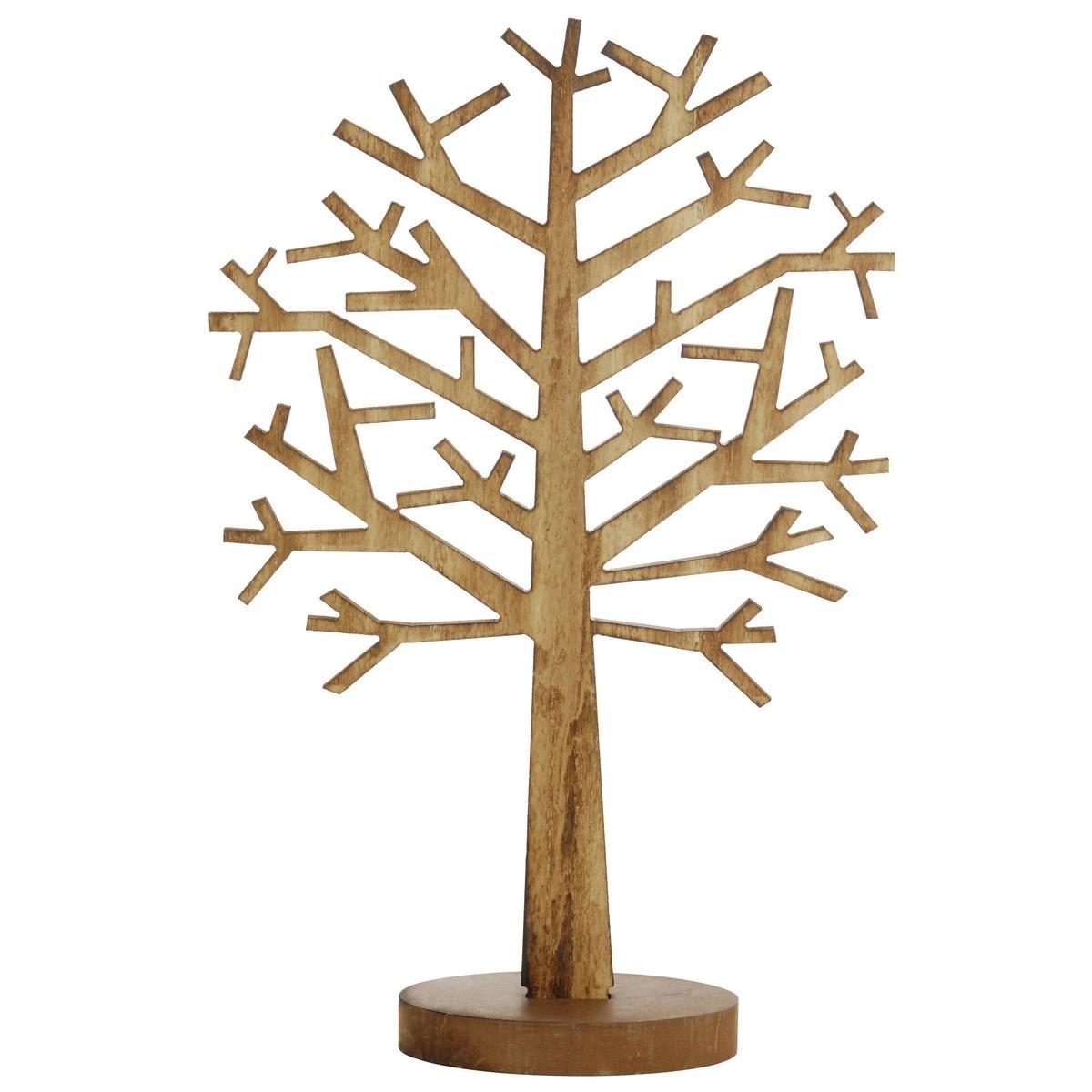 Dřevěná dekorace Bare tree, 47,5 cm