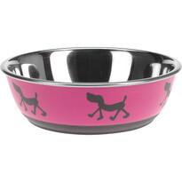 Castron câine Doggie treat roz, diam. 17,5 cm