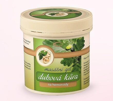 Topvet Masážní gel dubová kůra 250 ml
