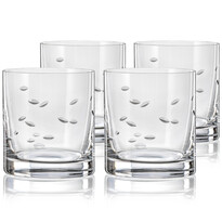 Crystalex CXBR083 4dílná sada sklenic na whisky, 280 ml