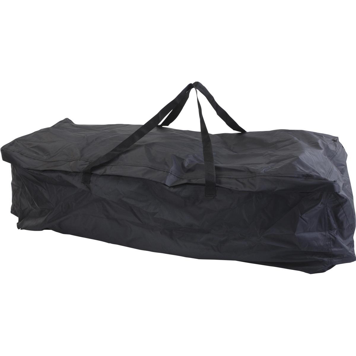 Koopman Skládací cestovní taška černá, 116 x 49 x 35 cm