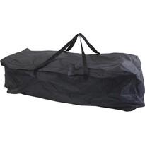 Összecsukható utazótáska, fekete, 116 x 49 x 35 cm