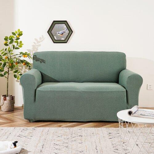 4Home elasztikus, vízálló kanapéhuzat Magic clean zöld, 190 - 230 cm