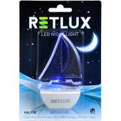 Retlux LED Noční světlo loď modrá