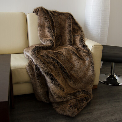 s.Oliver kožešinová deka 3696/300, 150 x 200 cm