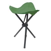 Összecsukható háromlábú szék zöld