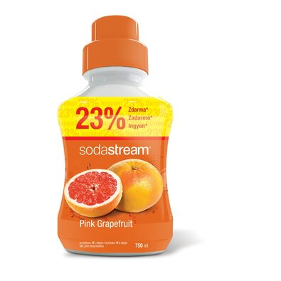 SodaStream Sirup Pink Grapefruit, 750 ml