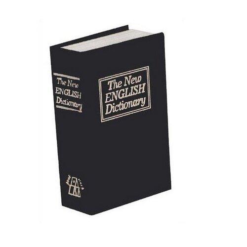 Trezor Kniha 18 x 11,5 x 5,4 cm, černá