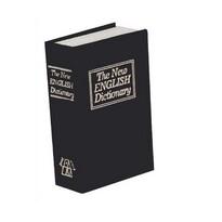 Sejf Książka 18 x 11,5 x 5,4 cm, czarny