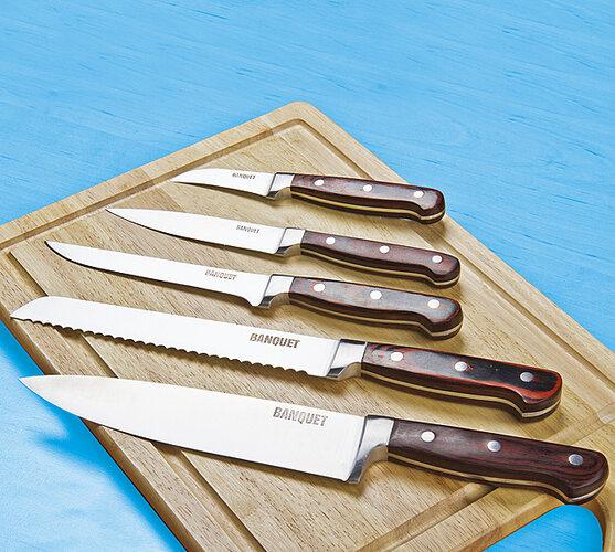 Masivní ocelové nože