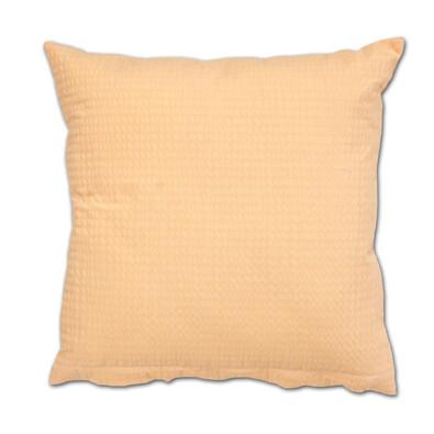 Povlak na polštářek krep lososová, 40 x 40 cm