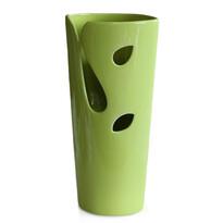 Kerámia váza Spring mood, zöld