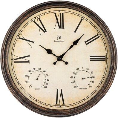 Lowell 00835M Dizajnové nástenné hodiny pr. 40 cm