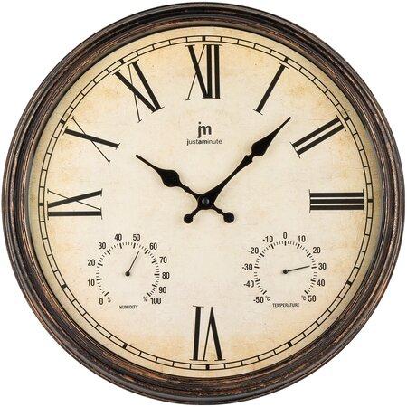Lowell 00835M Designové nástěnné hodiny pr. 40 cm