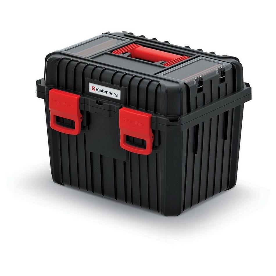 Kufr na nářadí Heavy černá , 44,5 x 36 x 33,7 cm