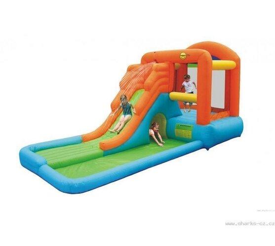 Obrie skákací hrad s bazénikom
