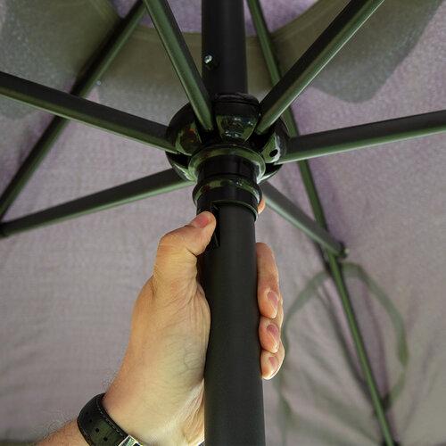 Zahradní slunečník Fringe hnědá, pr. 180 cm