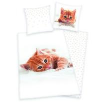 Bavlnené obliečky Mačiatko, 140 x 200 cm, 70 x 90 cm