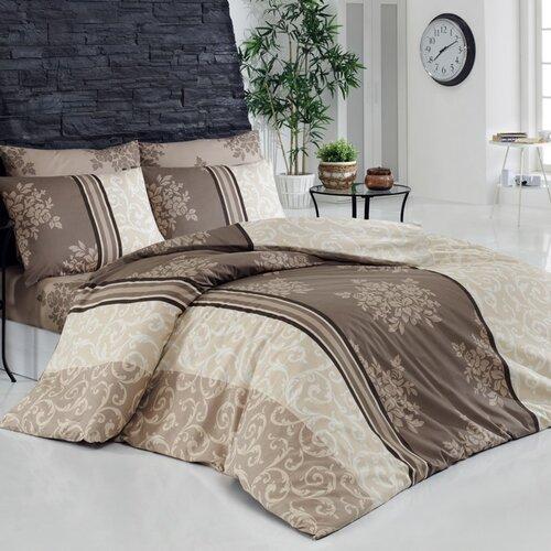 Bedtex Bavlnené obliečky Natura béžová, 140 x 220 cm, 70 x 90 cm