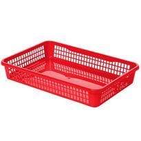 Aldo Plastový košík 15,5 x 12,5 x 6,6 cm, červená