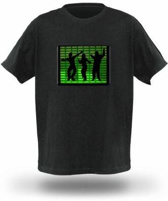 Pánské tričko s ekvalizérem, model 2, S