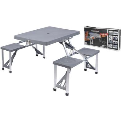 Piknikový set, stůl a 2 lavice