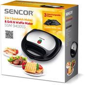 Sencor SSM 9400SS sendvičovač