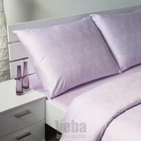 Veba Geon Tulipánok damaszt ágynemű, lila, 140 x 220 cm, 70 x 90 cm