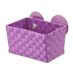Wenko košík s přísavkami fialová
