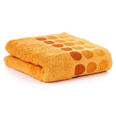 Ručník Fashion Round oranžová, 50 x 90 cm