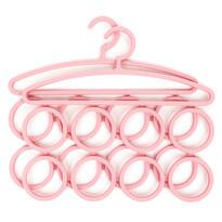 Koopman 2-dielna sada vešiakov, ružová