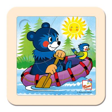 Bino Puzzle Baribal na člunu