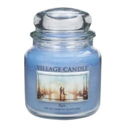 Village Candle Vonná svíčka ve skle, Déšť - Rain, 397 g, 397 g