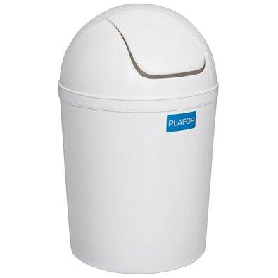 Aldo Kosmetický odpadkový koš Swing 5 l, bílá
