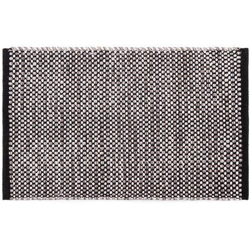 Kusový bavlněný koberec Elsa šedá, 70 x 120 cm