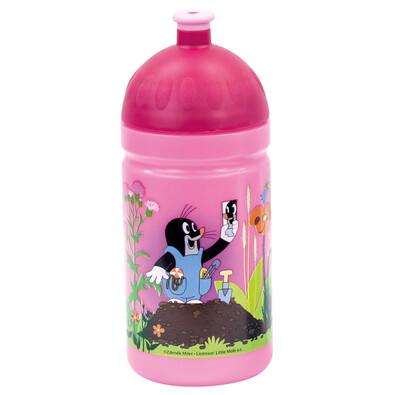 Bino Zdravá lahev Krtek růžová