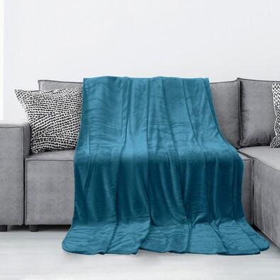 AmeliaHome Tyler takaró, indigókék, 150 x 200 cm