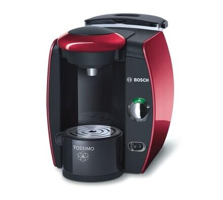 Espresso Bosch Tassimo TAS4013EE, červená