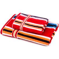 Sada Stripes Ema ručník a osuška, 70 x 140 cm, 50 x 90 cm