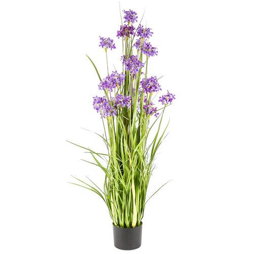 Dekorační luční květy 120 cm, fialová