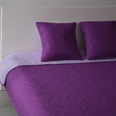 Přehoz na postel Maestri fialová a světle fialová, 220 x 240 cm
