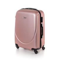 Pretty UP kerekes bőrönd ABS16 rózsaszín, 43 x 59 x 26 cm