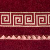 Ručník Atény bordó, 50 x 90 cm