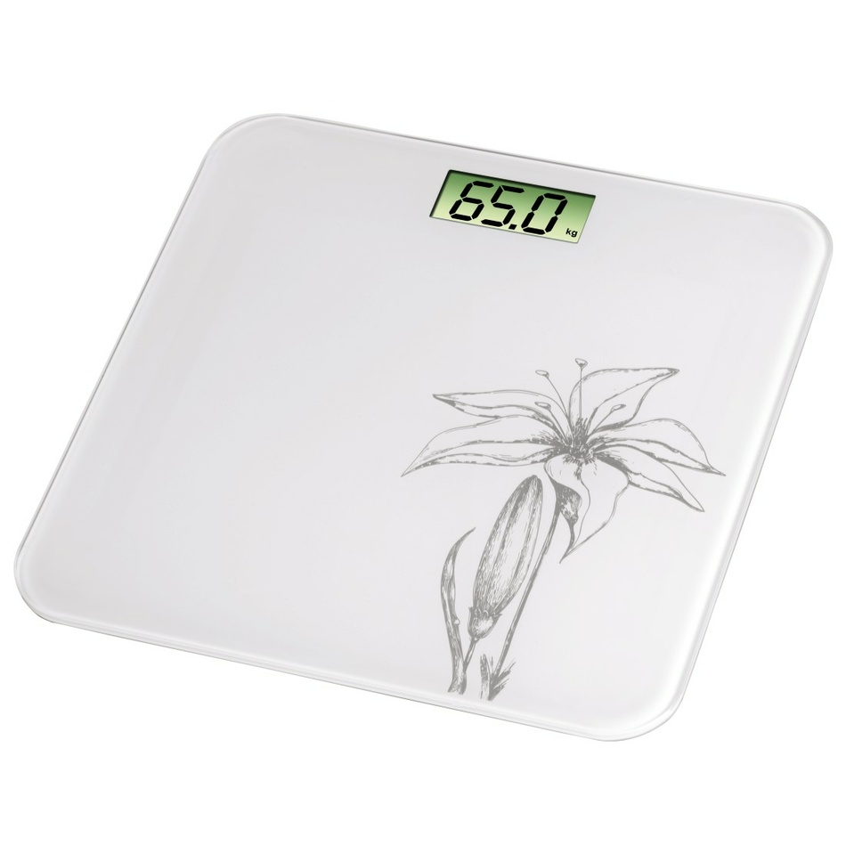 Xavax Osobní digitální váha Liliana, bílá