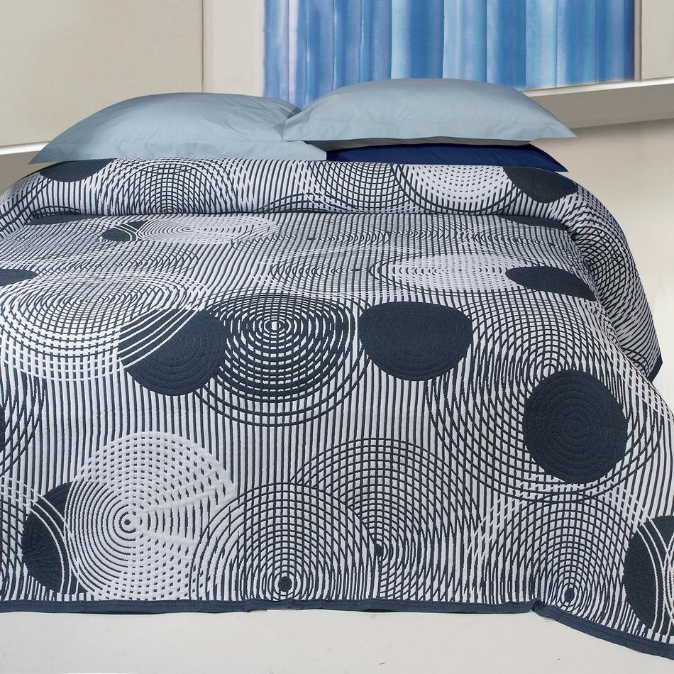 Forbyt Přehoz na postel Scorpio šedá, 240 x 260 cm