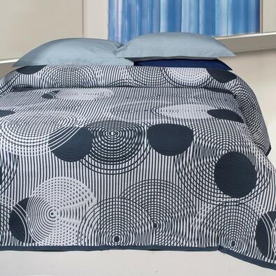 Narzuta na łóżko Scorpio szary, 240 x 260 cm
