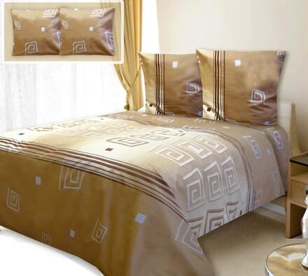 Bavlněné ložní povlečení Eleora, 140 x 200 cm, 70 x 90 cm