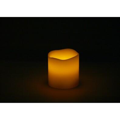 LED svícen z parafínu