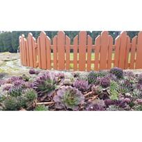 Záhradný plôtik Home terakota, 2,3 m
